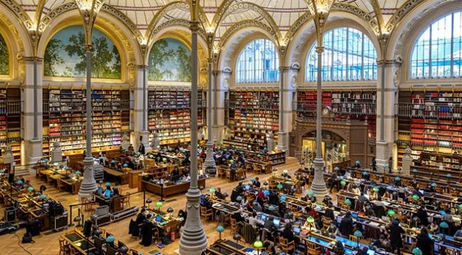 Tüm dünyanın hafızası: Kütüphaneler