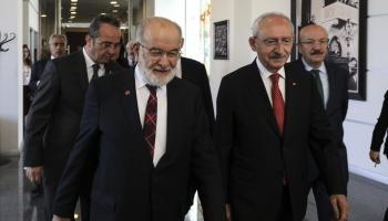 Kılıçdaroğlu, Karamollaoğlu ile görüştü