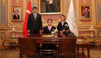 """""""Çocuk Vali"""" İstanbulda oyun alanlarının arttırılmasını istedi"""