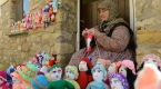 """""""Bayraklı Köy""""ün kadınlarından 103. yıla örgü bebekler"""