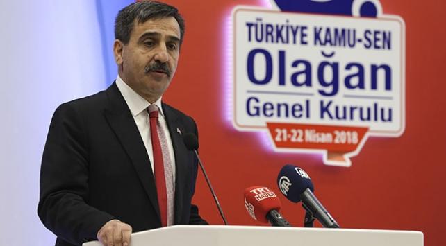 Türkiye Kamu-Senin yeni genel başkanı Önder Kahveci oldu