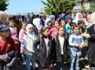 Afrinli çocuklar 23 Nisan'ın keyfini Rize'de çıkardı