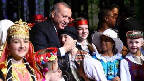 Cumhurbaşkanlığı Külliyesinde 23 Nisan coşkusu