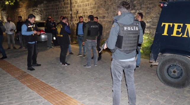 Diyarbakırda parklarda huzur operasyonu
