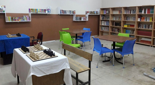Afrin şehidi Burak Tatarın ismi kütüphanede yaşatılacak