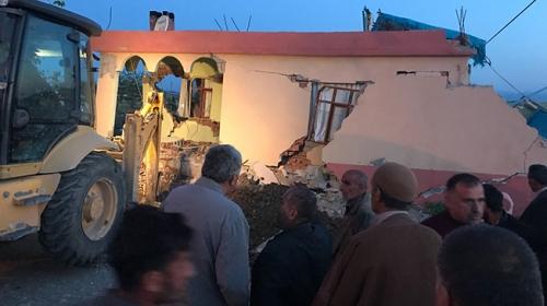 Adıyamanın Samsat ilçesinde 5,1 büyüklüğünde deprem