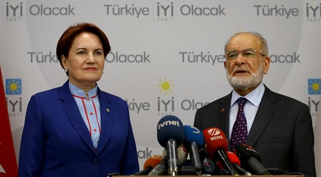 SP Genel Başkanı Karamollaoğlu, İyi Partiyi ziyaret etti