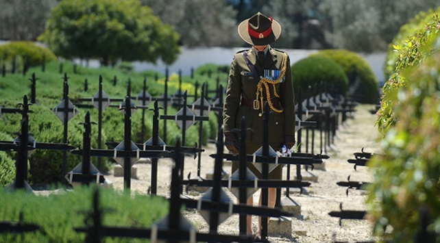 Çanakkale Kara Savaşlarının 103. yıl dönümü törenle anıldı