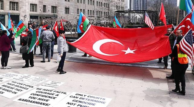 ABDde Ermeni yalanlarına Hayır! gösterisi