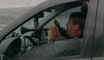 Zurnalı trafik canavarı kamerada