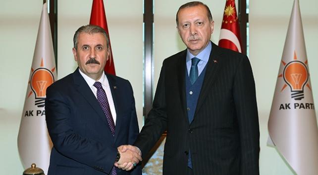 Cumhurbaşkanı Erdoğan, BBP Lideri Destici ile görüşecek