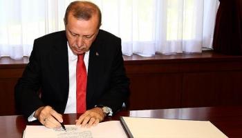 Cumhurbaşkanı Erdoğan, 34 kanun maddesini onayladı