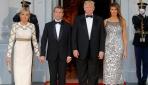 ABD Başkanı Trump ile eşi arasında el tutuşma krizi