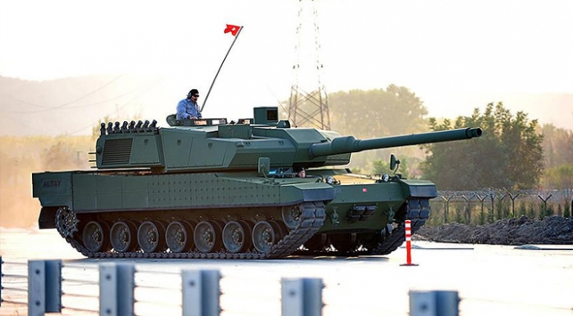 Milli savunma ALTAY tankıyla güçlenecek