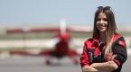 Genç akrobasi pilotu, kadınları cesaretlendiriyor