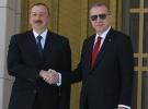 Azerbaycan Cumhurbaşkanı Aliyev Ankara'da