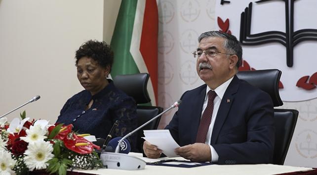 """Türkiye ile Güney Afrika arasında """"Eğitim İş Birliği Anlaşması"""" imzalandı"""