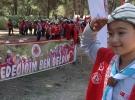 Suriyeli Türkmen Betül'ün Çanakkale törenine katılma hayali gerçekleşti