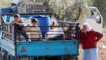 Afrine gitmek isteyen sivillere YPG/PKK engeli