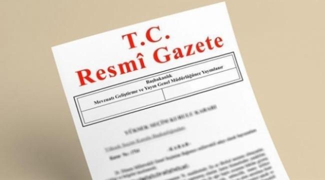 Anayasa değişiklik uyum paketi Resmi Gazetede