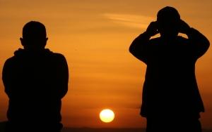 Kapadokyada gün batımı turizmi