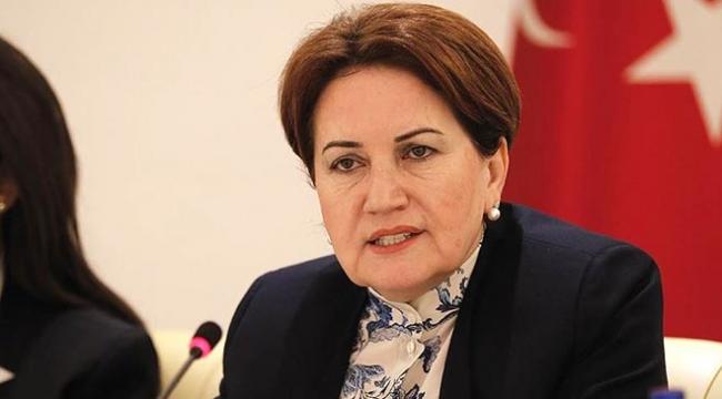 İYİ Parti Genel Başkanı Akşenerden adaylık açıklaması