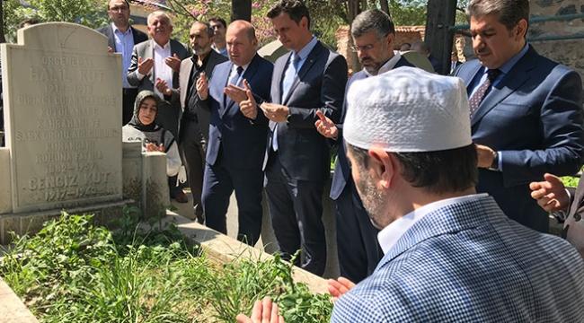 Kutül Amare Zaferi Komutanı Halil Paşa mezarı başında anıldı