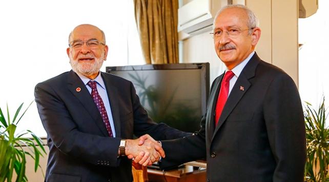 Kılıçdaroğlu ile Karamollaoğlu görüşmesi sona erdi