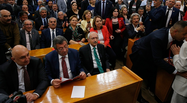 CHPden Abdullah Güle veto