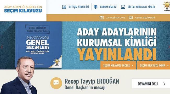AK Parti, 24 Hazirana özel web sitesi hazırladı