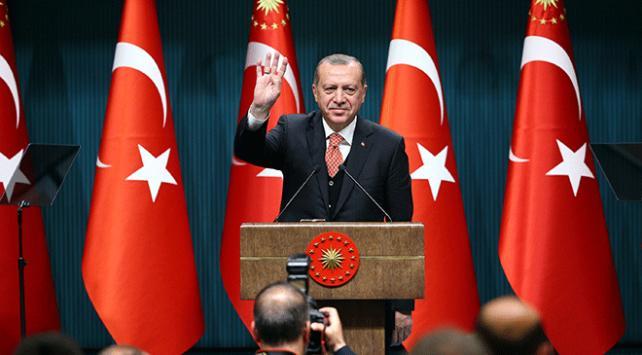 AK Partinin Cumhurbaşkanı adayı Recep Tayyip Erdoğan