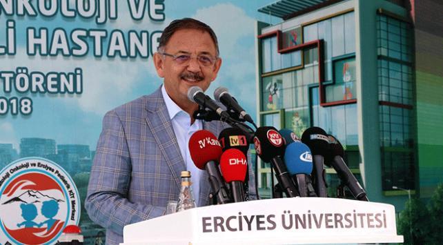 Bakan Özhaseki: Kayseri Şehir Hastanesi 5 yıldızlı oteller kadar lüks