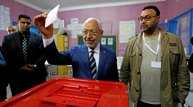 Tunusta seçimin galibi Nahda Hareketi Partisi