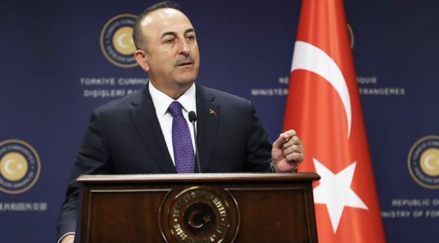 Dışişleri Bakanı Çavuşoğlundan Fransanın skandal bildirisine sert tepki