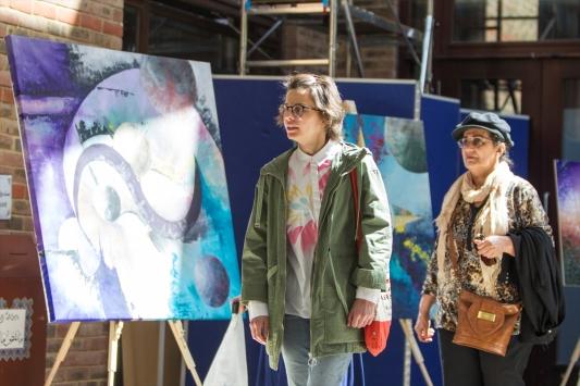 Türk sanatçıdan Londrada Grenfell sergisi