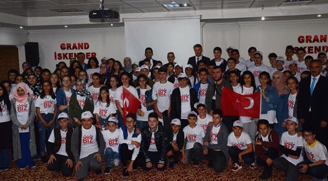"""Öğrenciler Anadoluyu """"Biz Anadoluyuz Projesi"""" ile tanıyor"""