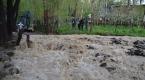 Güneydoğuda etkili olan sağanak yağış hayatı olumsuz etkiledi