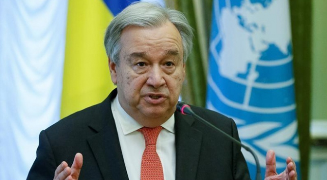 BM Genel Sekreteri Guterresten İsrail ve Suriyeye düşmanca eylemlere son çağrısı