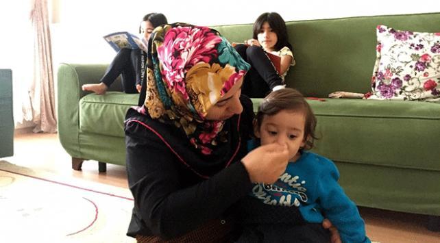 7 yıl işkence gören anne çocuklarıyla yeni bir hayata başladı