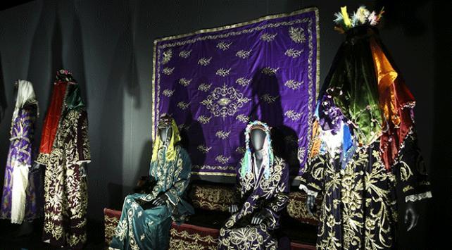3. Etnospor Kültür Festivalinde Anadolunun Gelinleri Sergisi