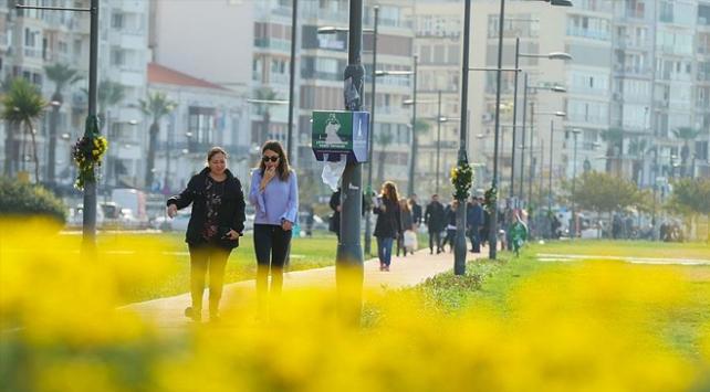 Marmarada sıcaklıklar 4 dereceye kadar artacak