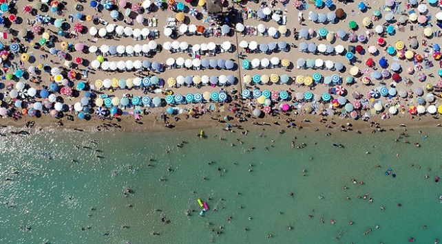 """Türkiyede """"mavi bayraklı"""" plaj sayısı 459a ulaştı"""