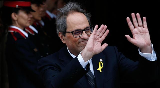 Katalonya özerk yönetimi yeni başkanı Quim Torra oldu