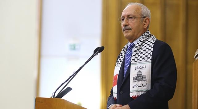 CHP Genel Başkanı Kılıçdaroğlu: Arap dünyası Filistine bizim kadar sahip çıkamıyor