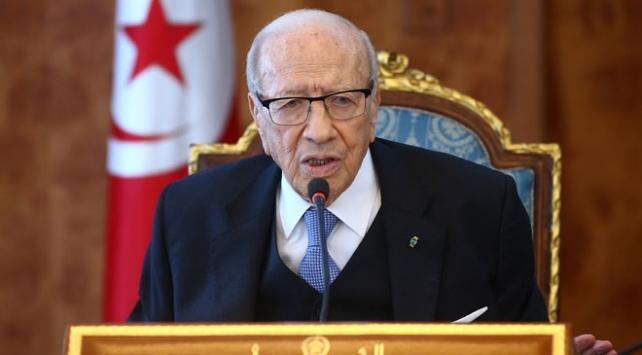 Tunus Cumhurbaşkanı Sibsiden İsraile kınama