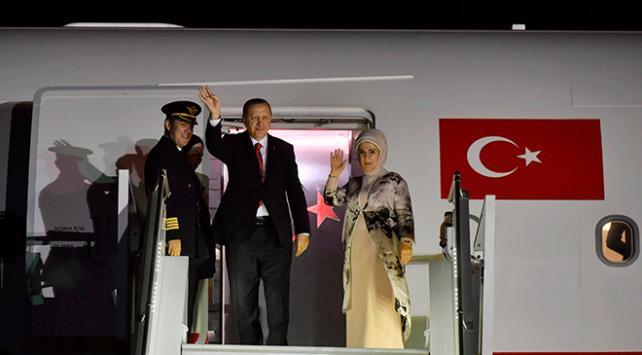 Cumhurbaşkanı Recep Tayyip Erdoğan İngiltereden ayrıldı