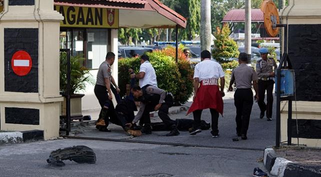 Endonezyada polis merkezine saldırı: 1 ölü, 2 yaralı
