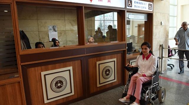Adalet Bakanlığı engellilerin hayatını kolaylaştırıyor