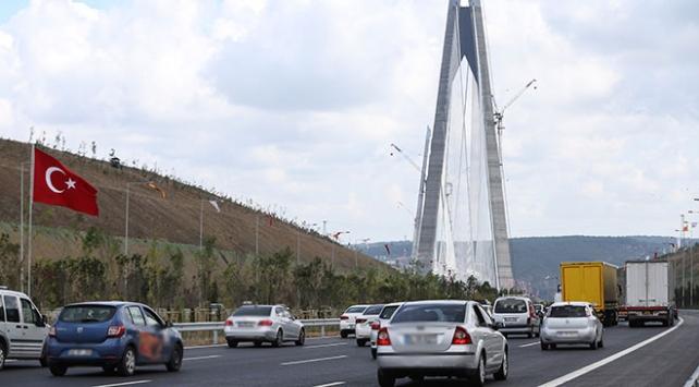 Avrasya Tüneli ve Yavuz Sultan Selim Köprüsü, İstanbul trafiğini rahatlattı