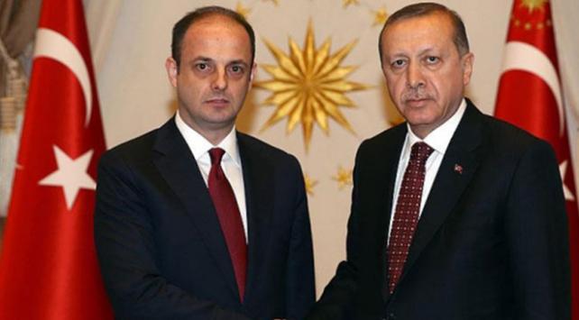 Cumhurbaşkanı Erdoğan, Merkez Bankası Başkanı Çetinkayayı kabul etti